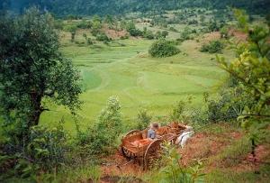 The Sky Is Not Blue in Burma