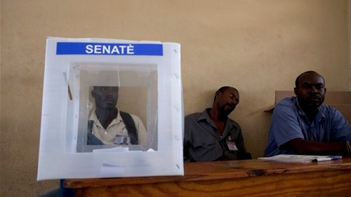 Low Turnout Projected for Haiti Senate Election