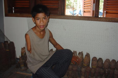 The New Cambodian Land Mine Museum
