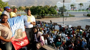 Aristide's Lavalas party has been disqualified by Haiti's electoral council (Image: Al Jazeera)