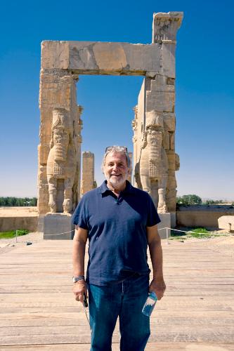 Sid Ganis at Persepolis