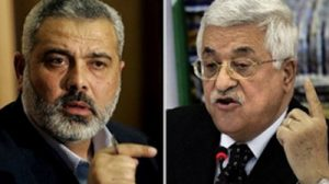 Palestinian National Authority elected Prime Minister Ismail Haniyeh and acting President Mahmoud Abbas (Image: Press TV) Palestinian National Authority, and Mahmoud Abbas, actin