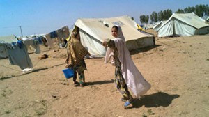 The Yar Hussain displaced persons camp in Pakistan (A. Fazzina / UNHCR)
