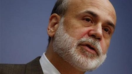 Chairman of the privately owned Federal Reserve Ben Bernanke (Jim Young/Reuters)