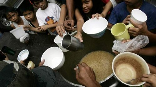 Nearly one-sixth of the world's population is undernourished. (Reuters)