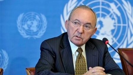 Justice Richard Goldstone headed the U.N. fact-finding mission on the Gaza conflict.