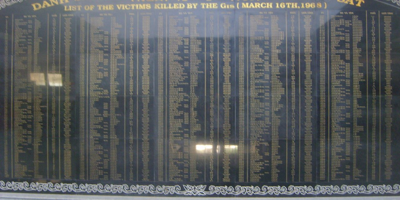 The My Lai Massacre – Vietnam's Holocaust