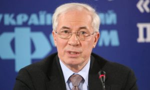 Ukraine Prime Minister Mykola Azarov (Photo Credit: KPA/Zuma/Rex Features)