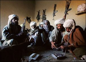 Bugti tribal militiamen in the Pakistani province of Balochistan. (Getty Images)