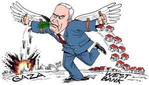 Israeli Peace Plan by Carlos Latuff