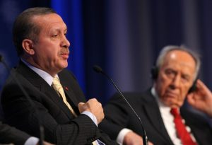 Erdogan and Perez at the Davos World Economic Forum