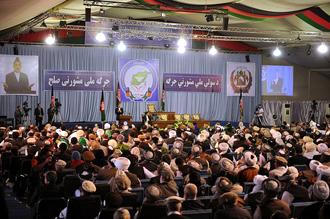 Karzai Peace Jirga Attacked by Taliban