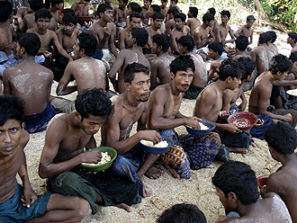 Burmese Muslim Refugees Seeking Shelter and Survival