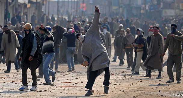 the dispute over kashmir Clashes over kashmir a large part of the india-pakistan rivalry centers on competing claims over the kashmir region this relatively small piece of land in the himalayas has been disputed since 1947, the year the modern state of pakistan was created.