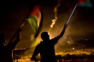 Israel's night raids into Bilin failed to suppress Palestinian resistance. (Oren Ziv/ActiveStills)