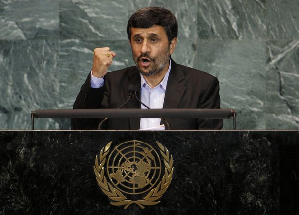 Walkout on Ahmadinejad at UN: The Craven Whores Doth Protest Too Much
