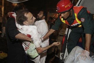 Suicide Bombers Strike Shia Muslims in Lahore
