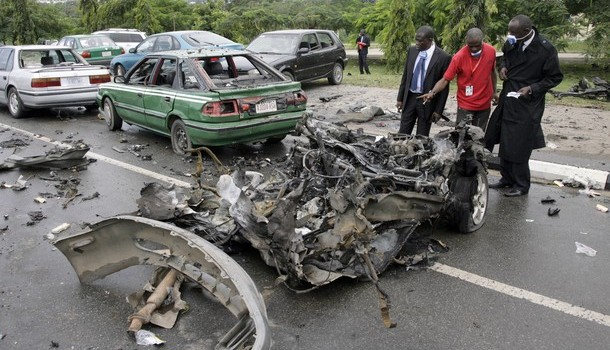 Nigeria's big day ruined by violent blasts