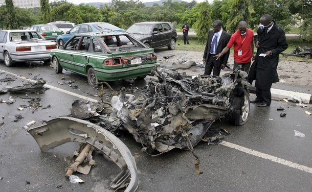 Nigeria's big day ruined by violent blasts