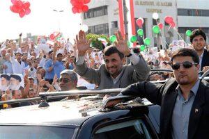 Iranian President Mahmoud Ahmadinejad arrives in Lebanon. ( Mahmoud Tawil/AP)