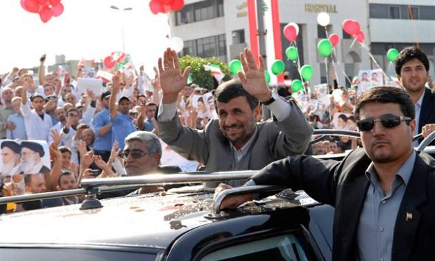On the Road with Ahmadinejad in Lebanon