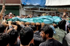 15 Kashmiris were killed in an incident in September when Indian security forces opened fire on demonstrators protesting Indian rule. (AFP)