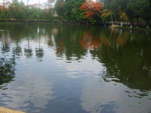 The lake surrounding the Ho Chi Minh residence (photo courtesy of David Calleja)