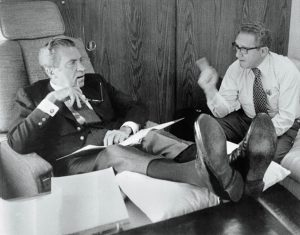 President Richard Nixon and Henry Kissinger (Bettmann/CORBIS)