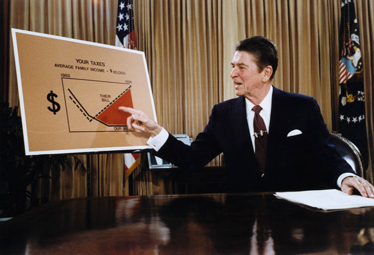 the reagan tax cuts and foreign policy The reagan tax cuts and foreign policy during the 1980's president ronald  reagan's (our 40th president from 1981 to 1989) domestic policy of a substantial .