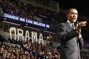 Obama: Change We Can Believe In