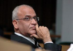 Dr. Saeb Erakat (Xinhua/Reuters)