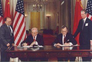 Gorbacheva and Bush