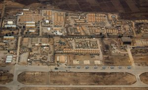 The Bagram Airfield and military complex