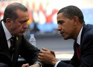 Turkey Prime Minister Recep Tayyip Erdogan and U.S. President Barack Obama (AFP)