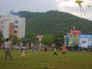 Kite flying in Quy Nhon