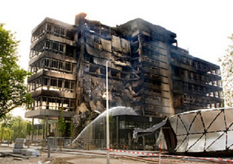 Faculty of Architecture Collapse