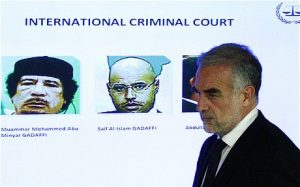 Chief prosecutor for the ICC Luis Moreno-Ocampo said that NATO crimes in Libya would also be investigated (Reuters)