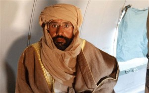 Saif al-Islam Gaddafi is expected to be put on trial in Libya rather than handed over to the ICC (Reuters)