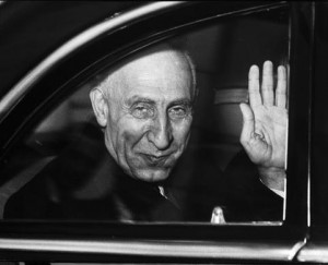 Mohammed Mossadegh, the democratically elected Prime Minister of Iran who was overthrown in a CIA-backed coup in 1953.