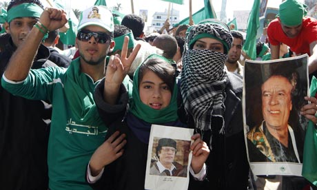 Will a pro-Gadhafi 'Green Revolution' topple the NTC?