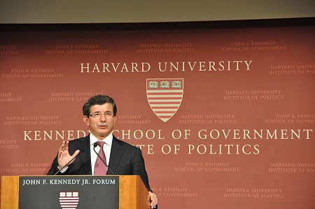 Foreign Affairs Minister of Turkey Ahmet Davutoğlu