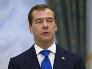 Russian President Dmitry Medvedev (RIA Novosti / Sergey Guneev)