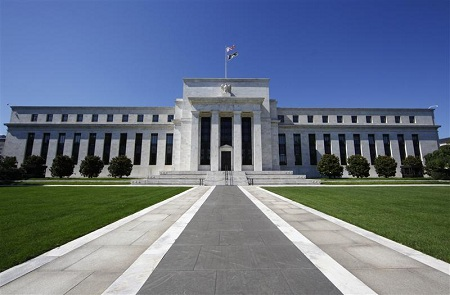 The Federal Reserve building in Washington, D.C. (Jim Bourg/Reuters)