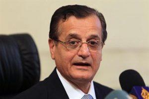 Lebanese Foreign Minister Adnan Mansour (Mohammad Azakir/The Daily Star)
