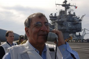 Defence Secretary Leon Panetta (US Navy)