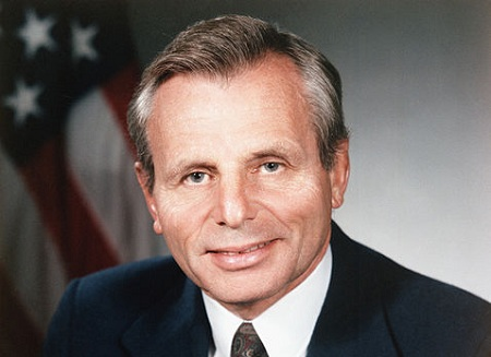 Then Secretary of Defense Frank Carlucci, November 1, 1987