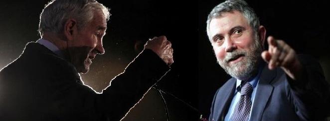 Review: Ron Paul vs. Paul Krugman