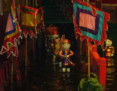 A Night at the Theatre With Vietnam's Water Puppets