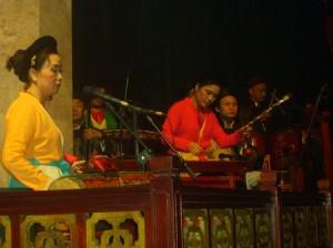 Hanoi Water Puppet Theater Musicians