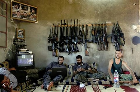 Armed rebels in Syria (Reuters)